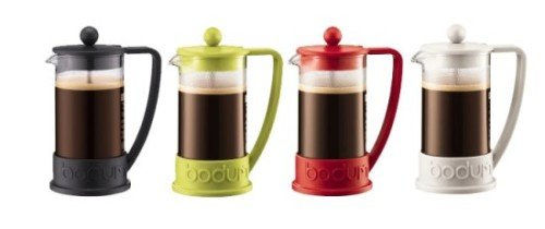 Bodum Brazil French Press Colors