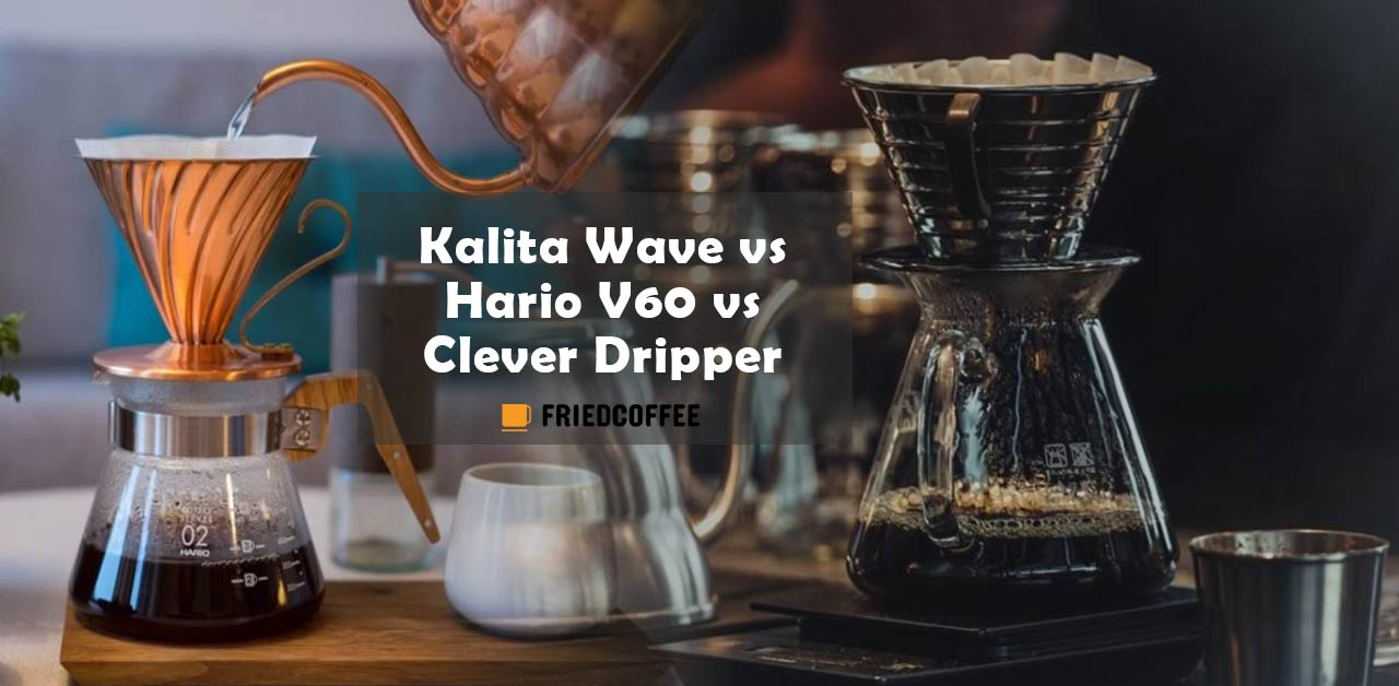 Kalita Wave vs Hario V60 vs Clever Dripper