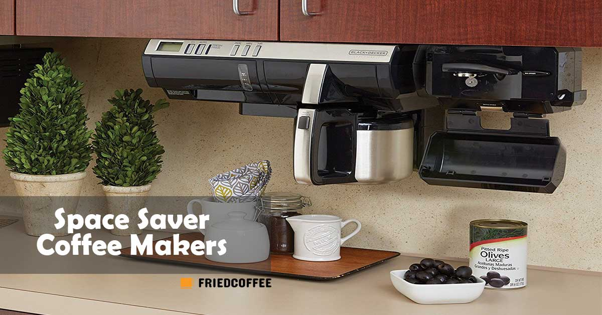 Space Saver Coffee Maker