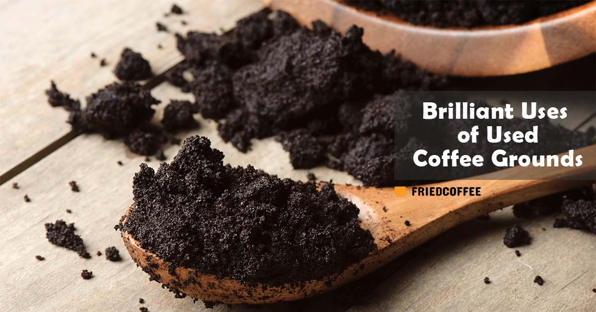 Uses of Used Coffee Grounds